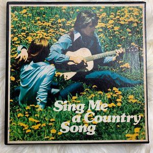 Columbia House Sing Me a Country Song 6 Albums